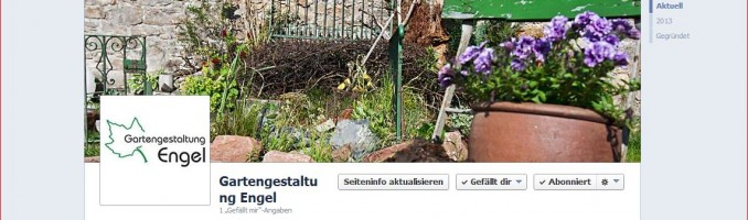 Gartengestaltung Engel auf Facebook